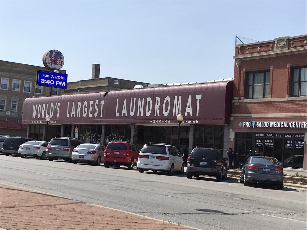 World's Largest Laundromat: 6246 Cermak Rd, Berwyn, IL