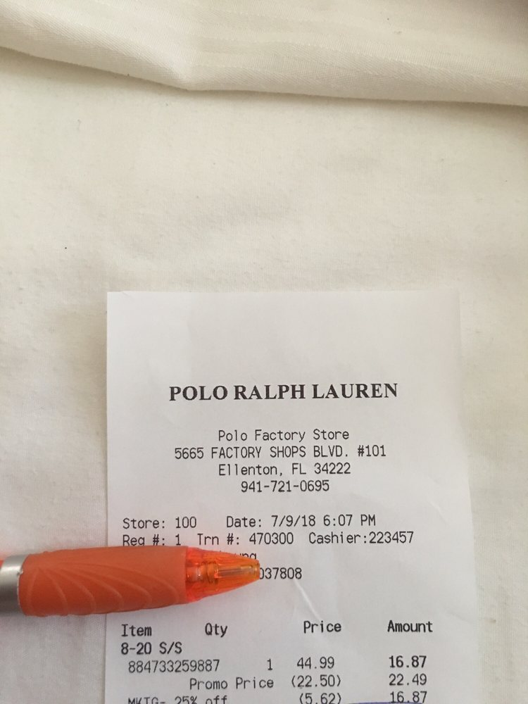Oulet Store Reviews For Polo Yelp Ralph Photos 11 Lauren Factory 54LjAR
