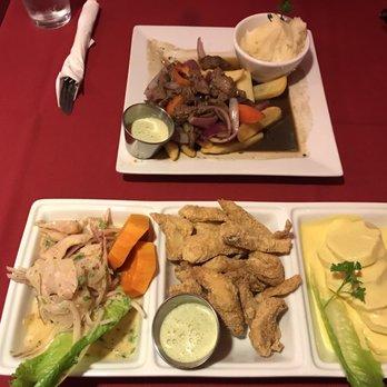 Photo Of Rosario S Peruvian Restaurant Longmont Co United States Lomo Saltado And