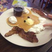Photo Of Ashleys Country Kitchen Orangevale Ca United States Clown Pancake