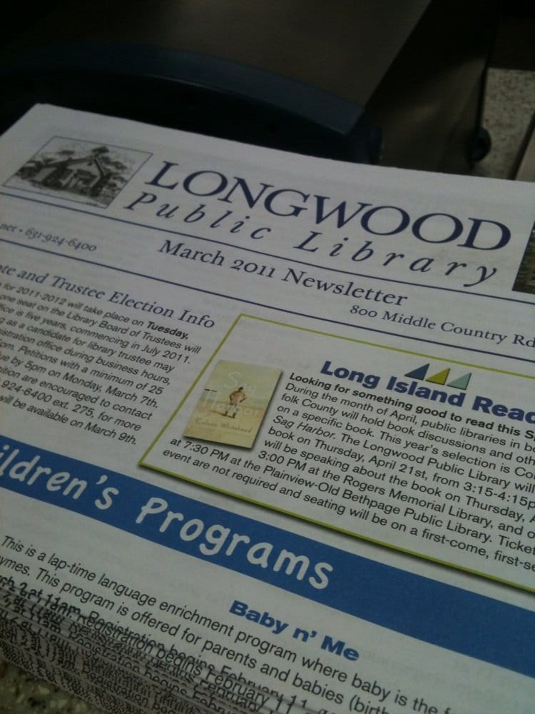 Longwood Public Library: 800 Middle Country Rd, Middle Island, NY