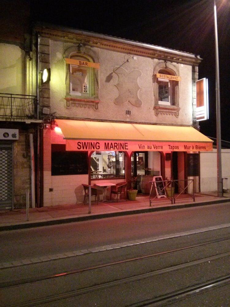 Swing marine restaurants 151 cours gambetta talence for Restaurant talence