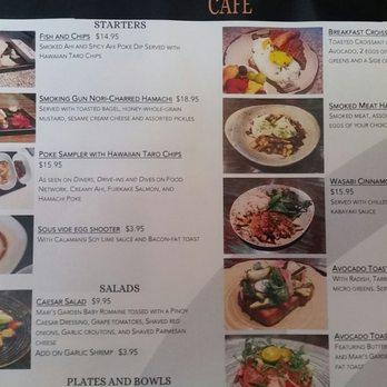 Fish hook cafe 292 photos 85 reviews poke 2045 for Fish me poke menu