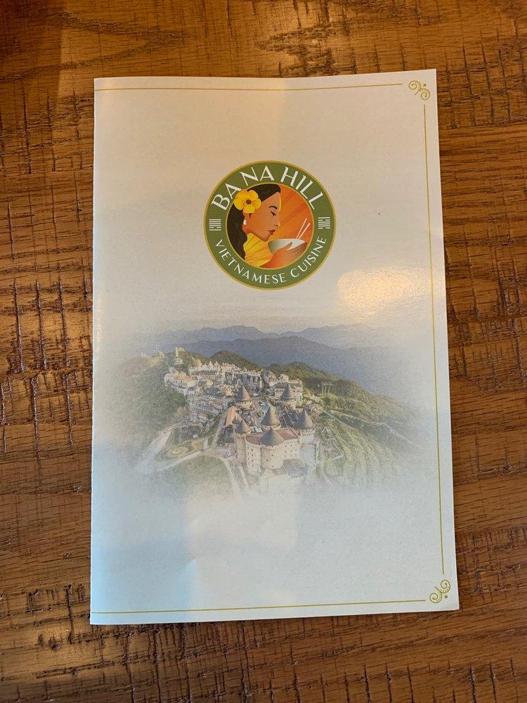 Bà Nà Hill Vietnamese Cuisine: 2672 State Hwy 36 S, Bernham, TX