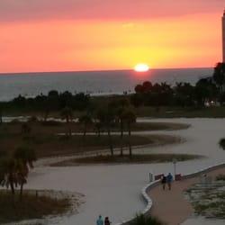 Photo Of South Beach Condo Hotel Treasure Island Fl United States Sunset