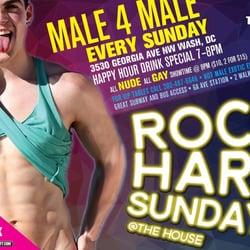 Rock hard gay