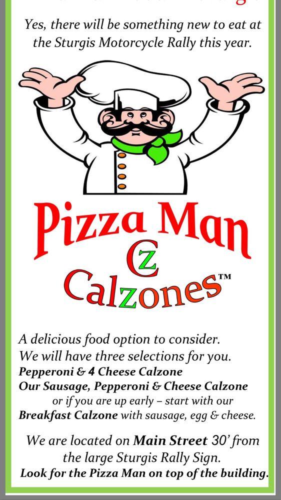 Pizza Man Food Truck: Main St, Sturgis, SD