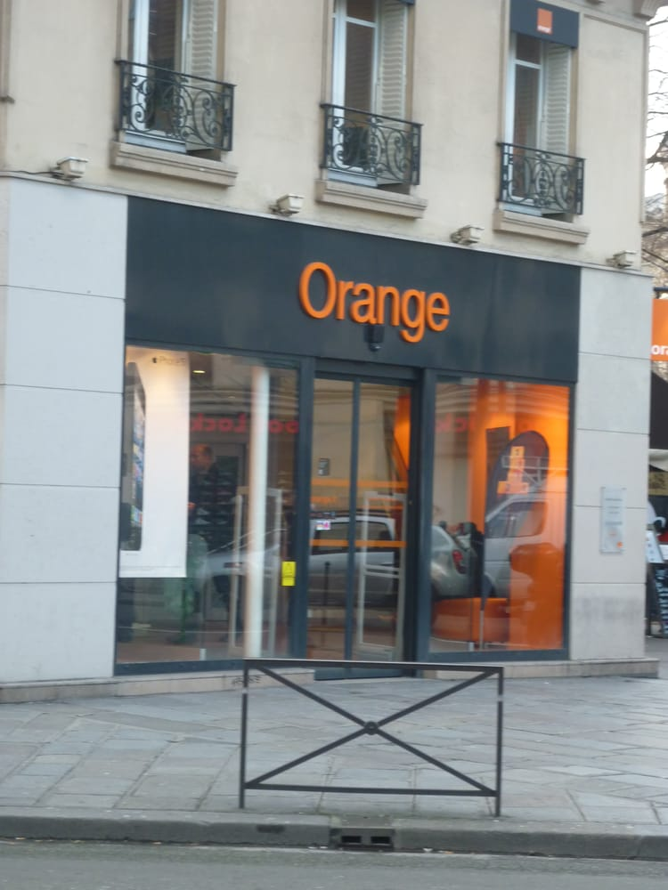 La boutique orange mobile phones 43 rue de rivoli for Orange mobel