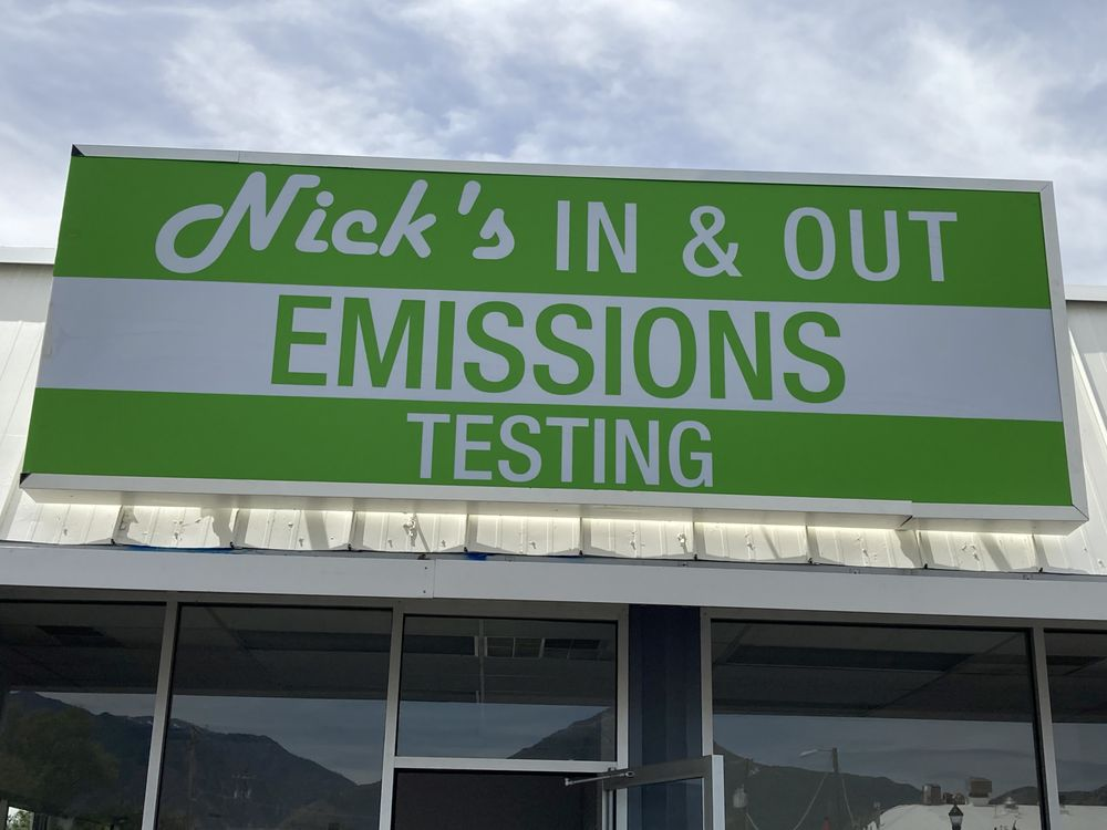 Nick's In & Out Emissions: 3302 S 900 E, Millcreek, UT