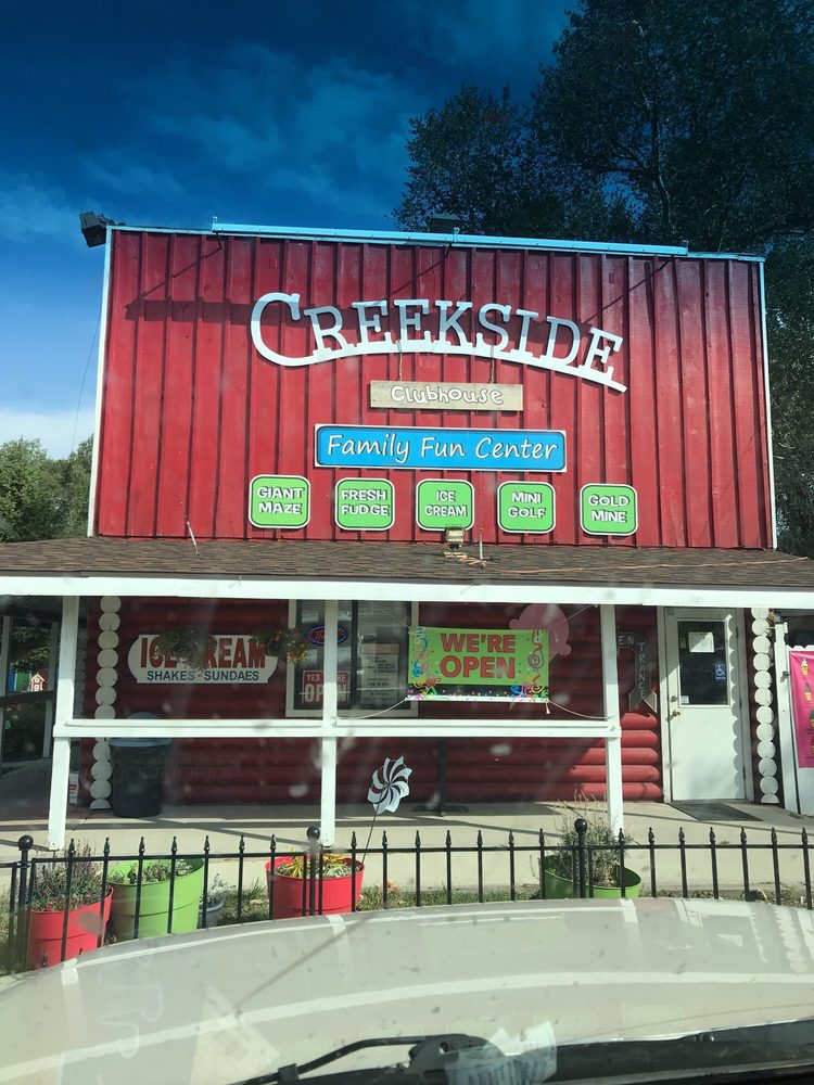 Creekside Clubhouse - Family Fun Center: 665 E Hart St, Buffalo, WY