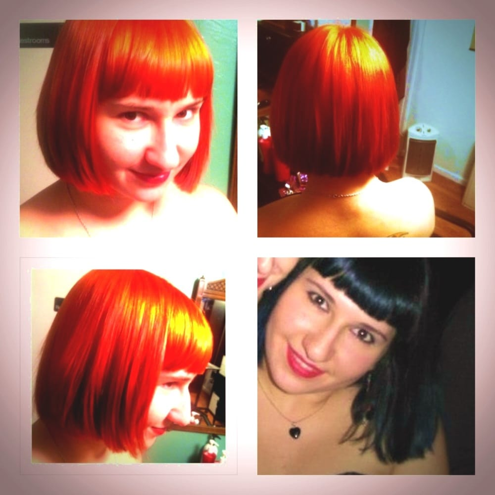 From Black And Blue To Fierce Orange Hair By Brooke Yelp