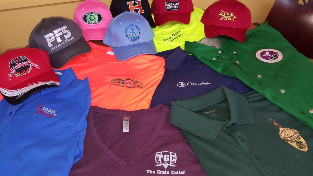 480f7d888 Custom Embroidery and Screen Printing on Polos, Jackets, T-shirts ...