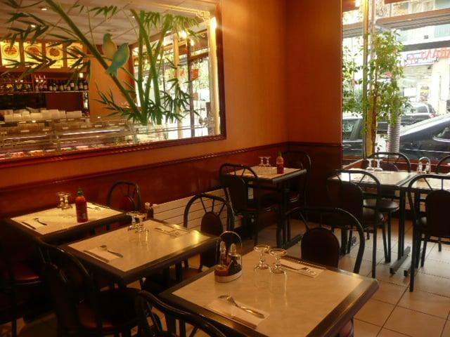 Au jardin du bonheur chinese 30 rue geoffroy saint for Restaurant au jardin paris