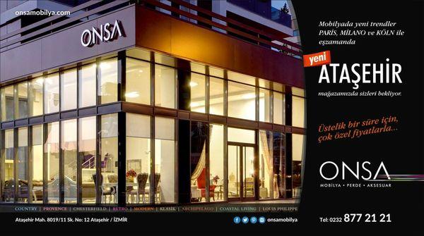 Modern Mobilya Köln onsa mobilya furniture stores ataşehir mah izmir turkey
