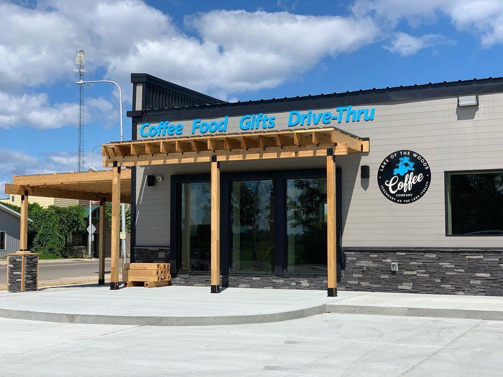 Lake of the Woods Coffee Company: 102 Lake St NE, Warroad, MN