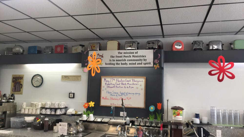 Front Porch Cafe: 9235 Main St, Ellsworth, MI