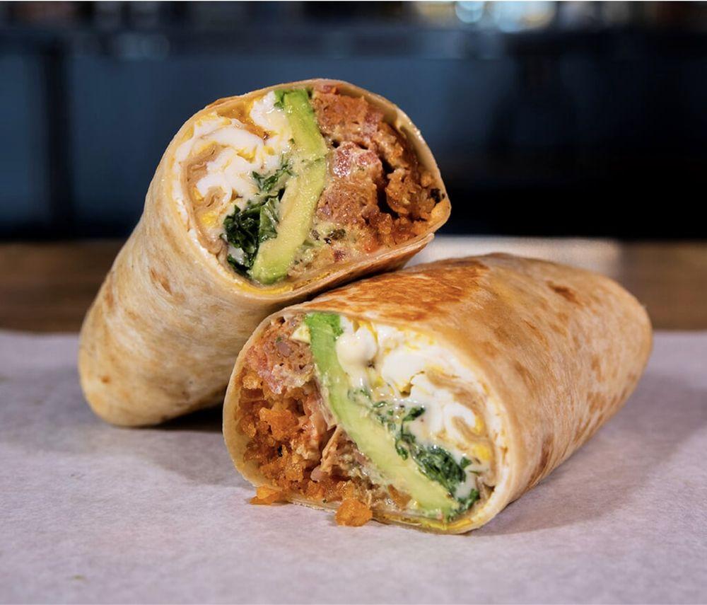 Bad Ass Breakfast Burritos: 8316 Northfield Blvd, Denver, CO