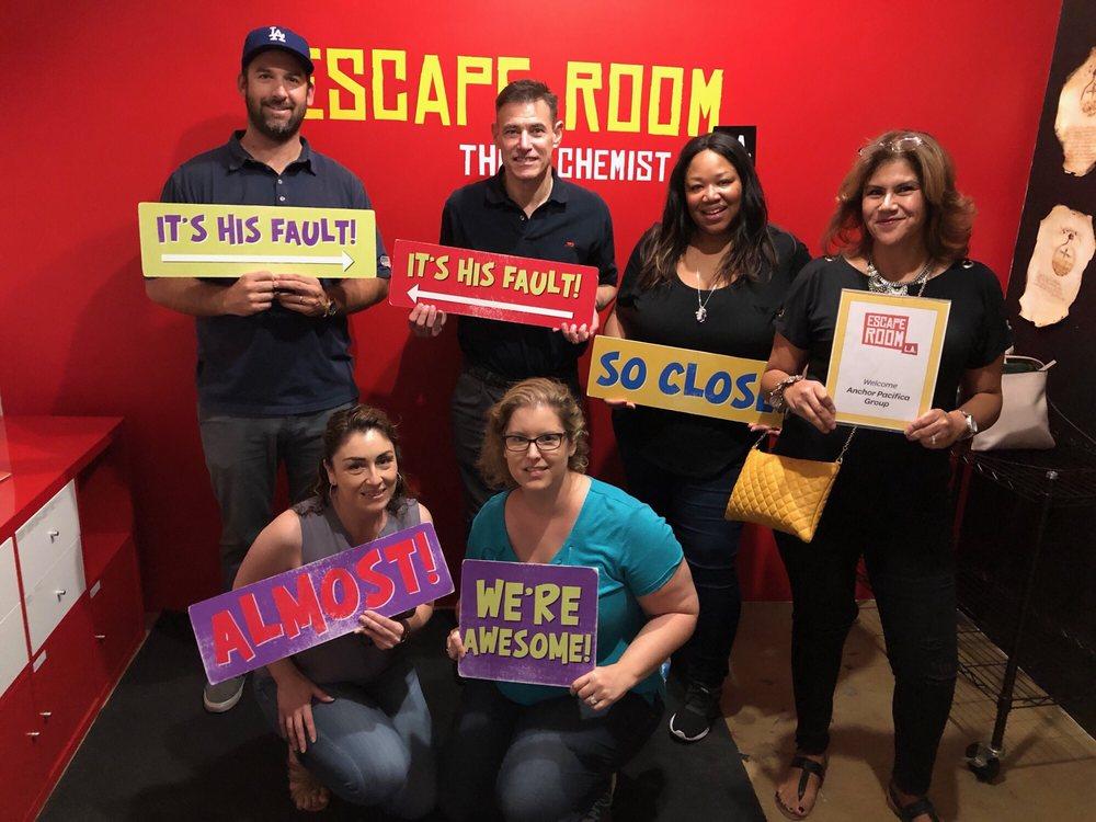 Escape Room Photo Op Signs