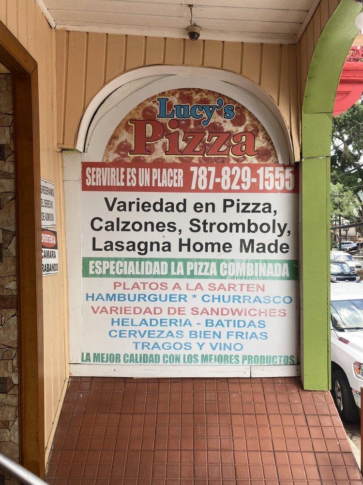 Lucy's Pizza: Callé San Joaquin S/N, Adjuntas, PR