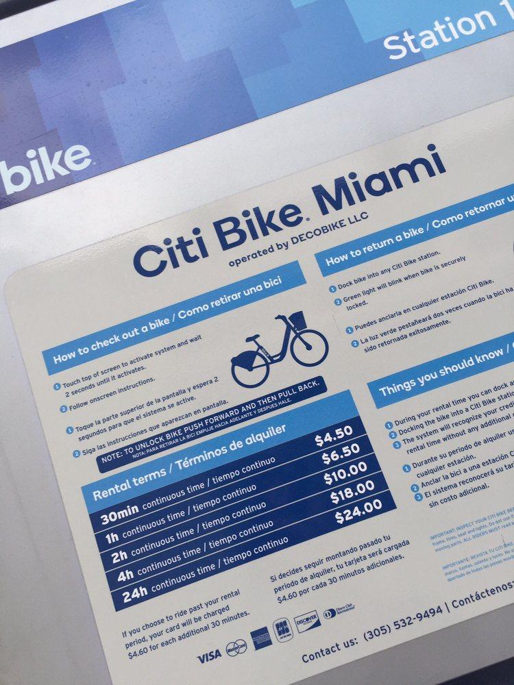 Citi Bike Miami >> Prices Yelp