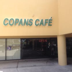 Copans Cafe Menu