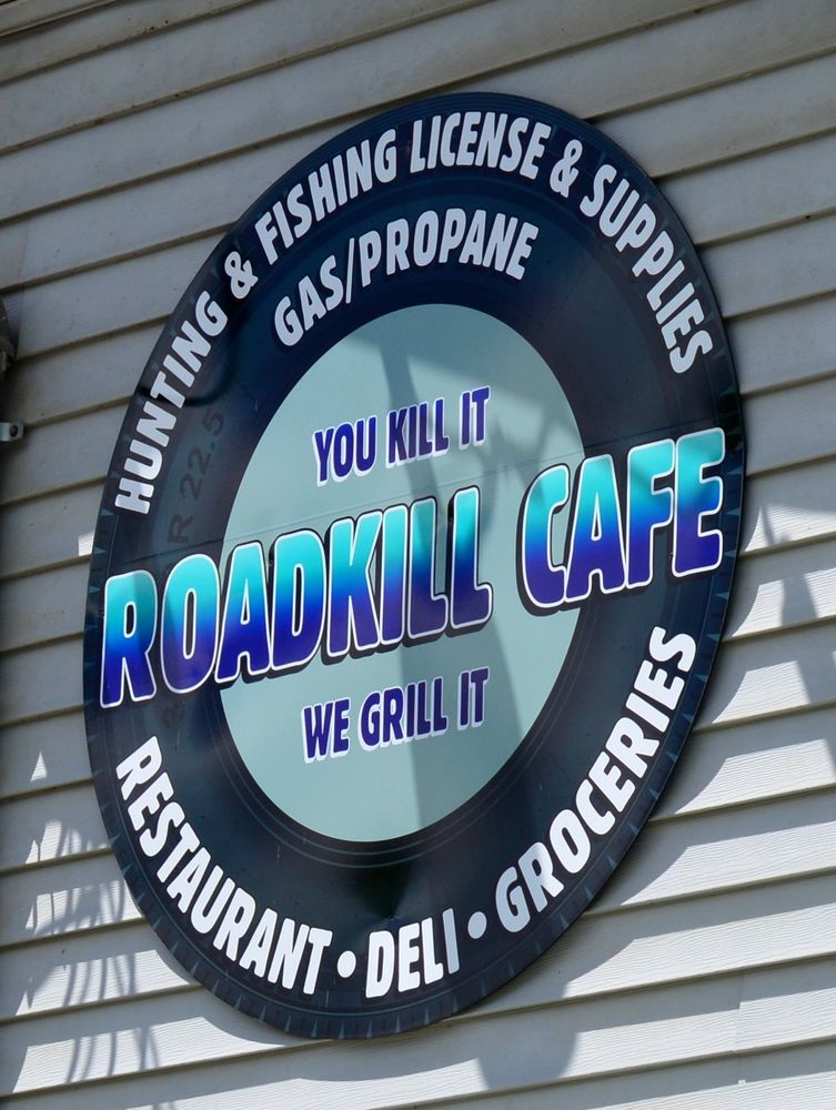 Road Kill Cafe: 633 Crooked Run Rd, Artemas, PA