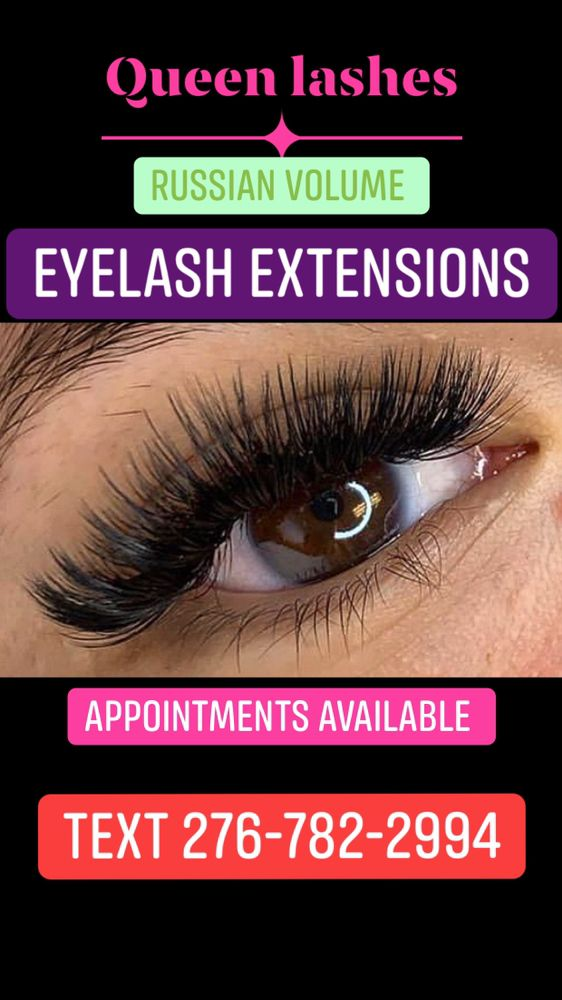Queen Lashes: Christiansburg, VA