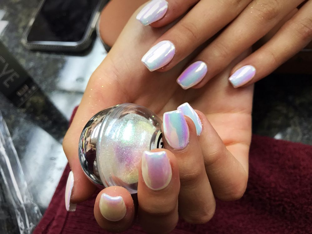 Illuminated chrome are now available at Ivy Nails Lounge - Yelp