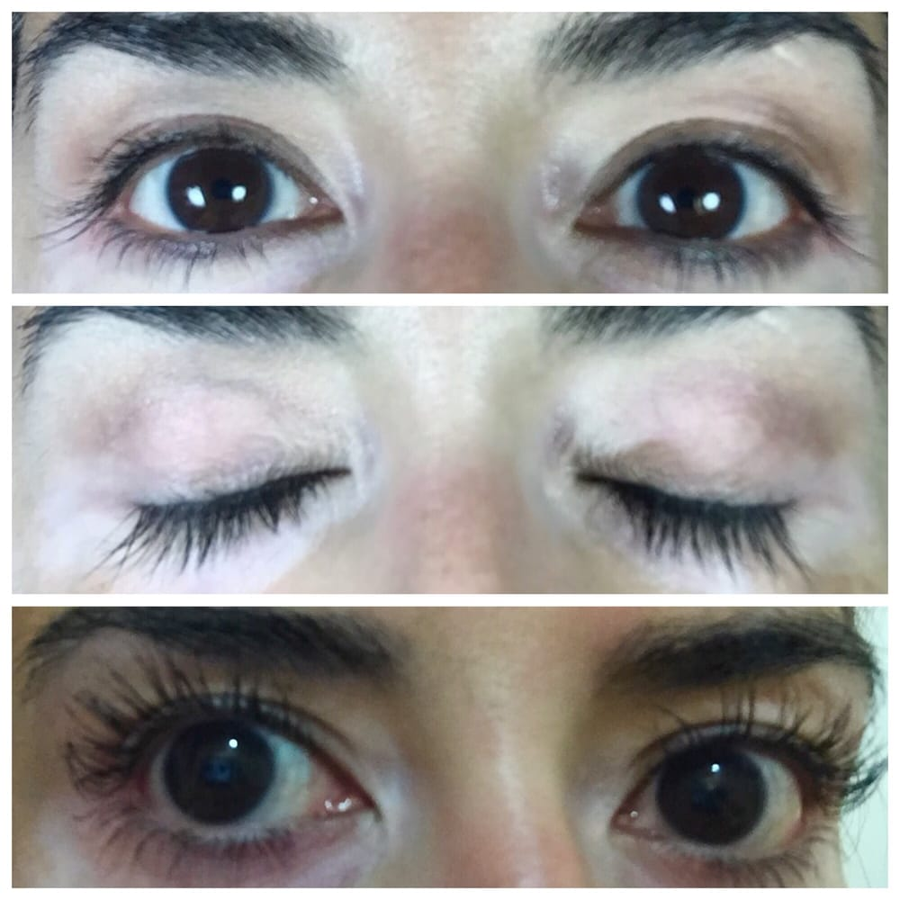 Lash Lift Permed Eyelashes For Curl My Real Eyelashes Are