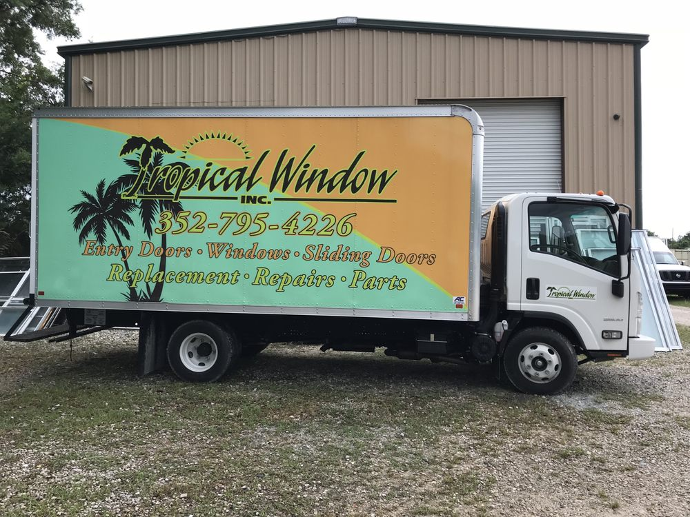 Tropical Window: 1731 S Suncoast Blvd, Homosassa, FL