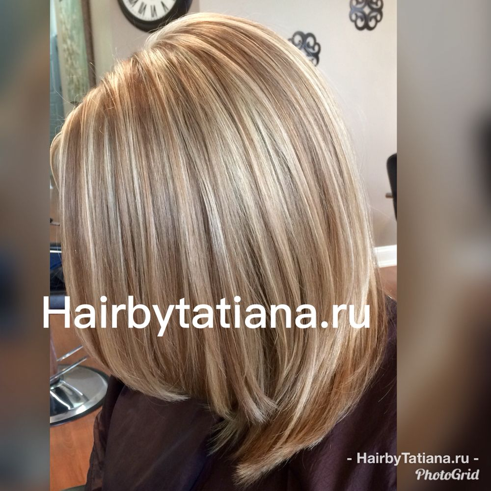 Httphairbytatiana Color Highlights Haircut Style