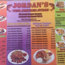 jordan s fish chicken gyros chicken wings 101 s