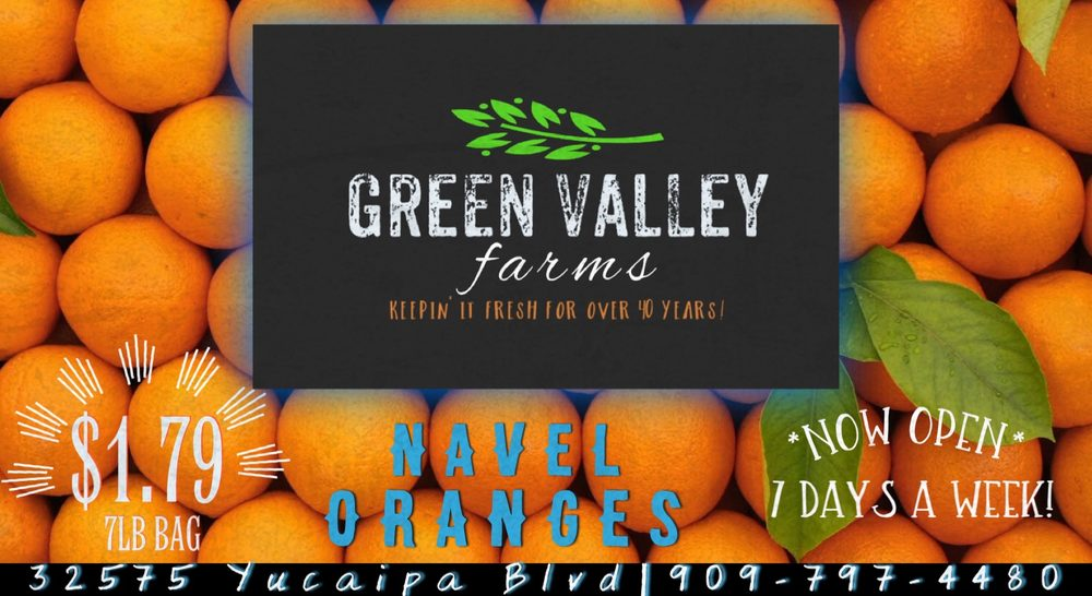 Green Valley Farms: 32575 Yucaipa Blvd, Yucaipa, CA