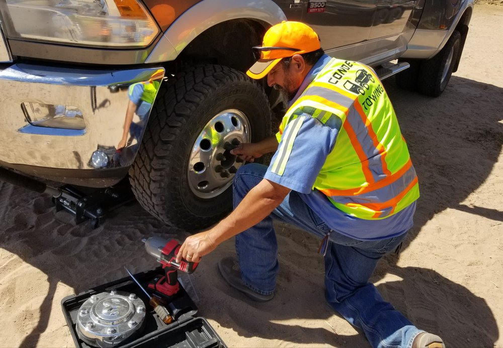 Conde's Towing: 64503 S Agua Caliente Rd, Dateland, AZ