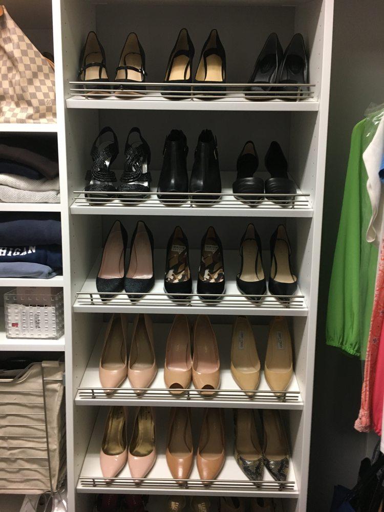 Photo Of Carolina Closet Creations   Fort Mill, SC, United States. Slanted  Shoe