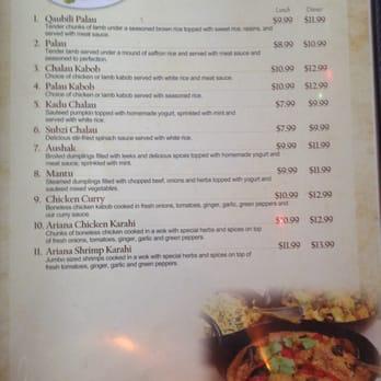 Ariana afghan restaurant 61 photos 57 reviews afghan for Ariana afghan cuisine menu