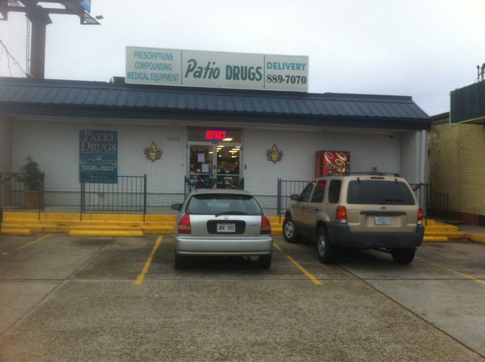 Drugs Patio   Drugstores   5208 Veterans Memorial Blvd, Metairie, LA    Phone Number   Yelp