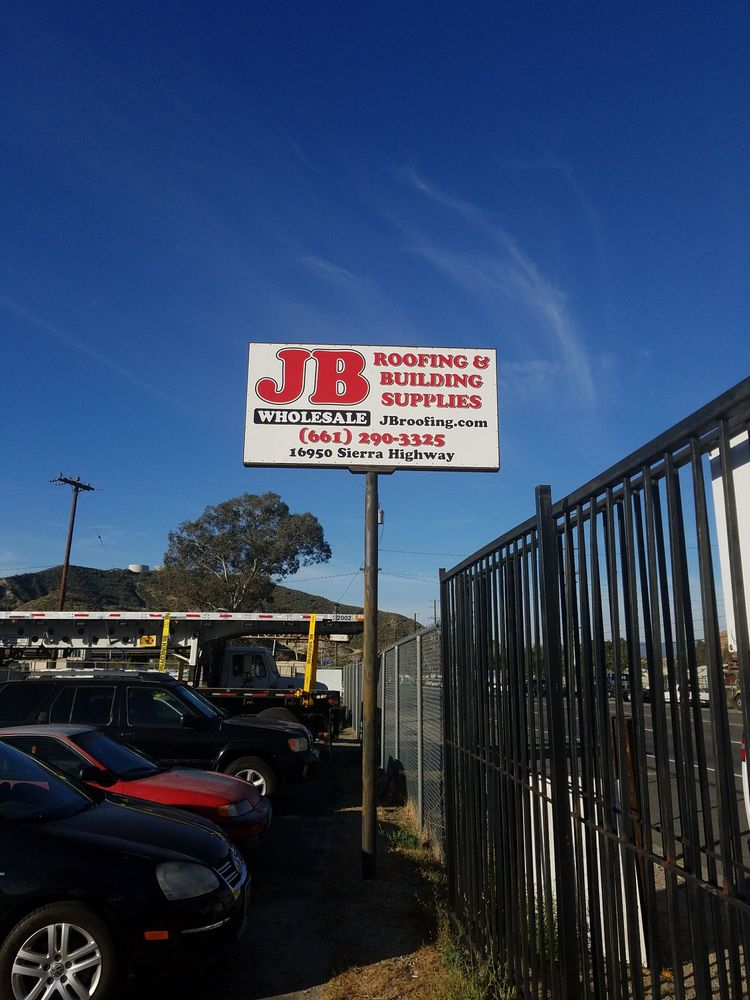 Jb Wholesale Roofing & Building Supplies: 16950 Sierra Hwy, Canyon Cntry, CA