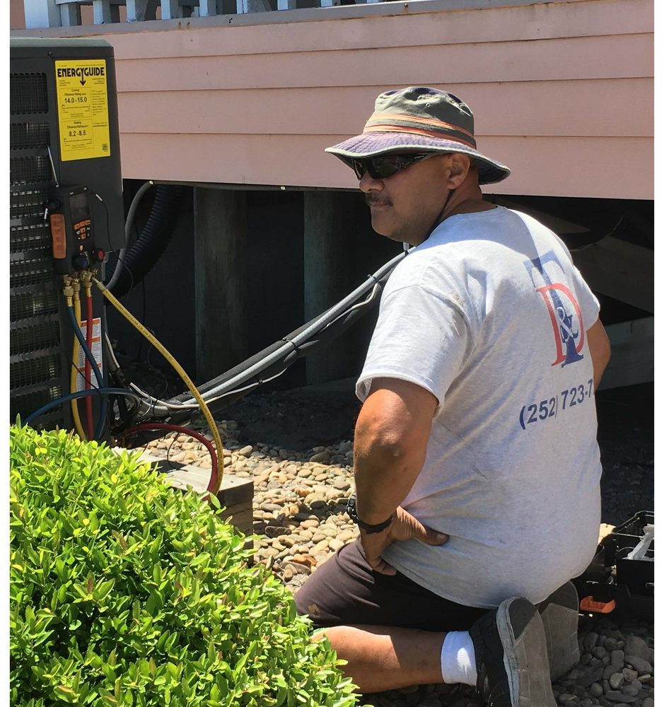 T & D Heating and Cooling: 259 Bobbys Dr, Newport, NC