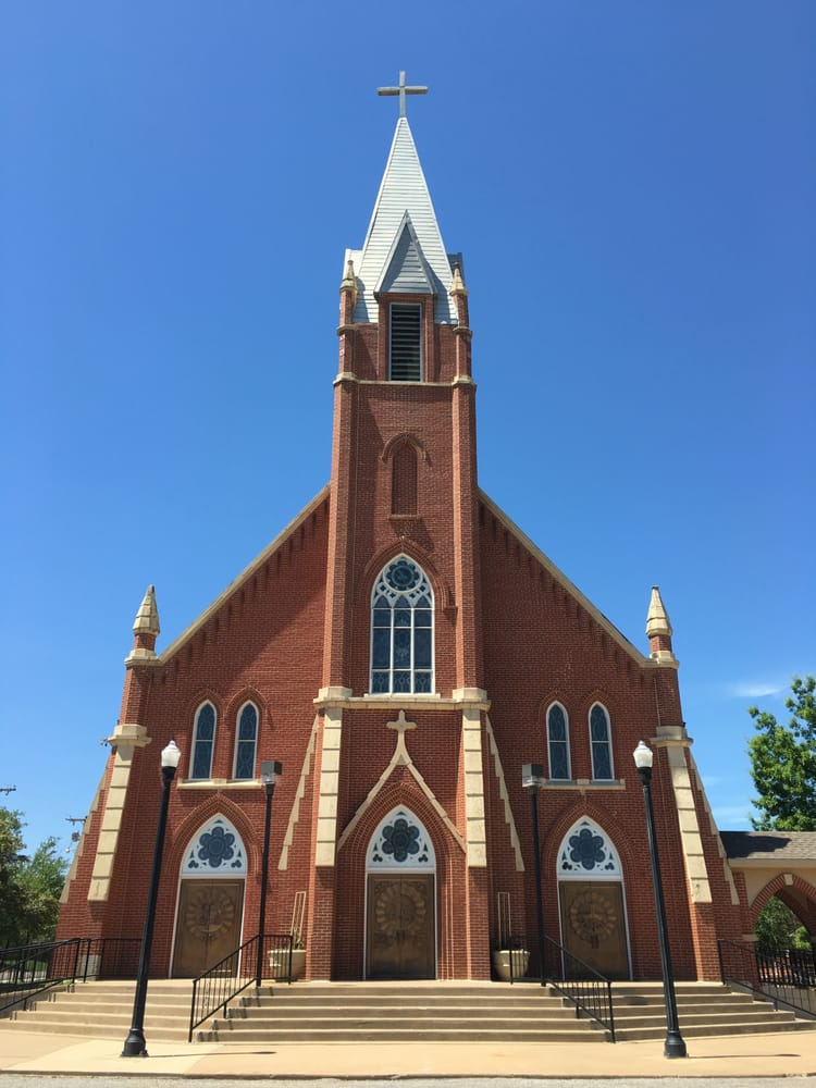 Holy Trinity Catholic Church: 310 N Main, Okarche, OK