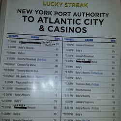 Atlantic city casino bus schedule places where gambling is illegal