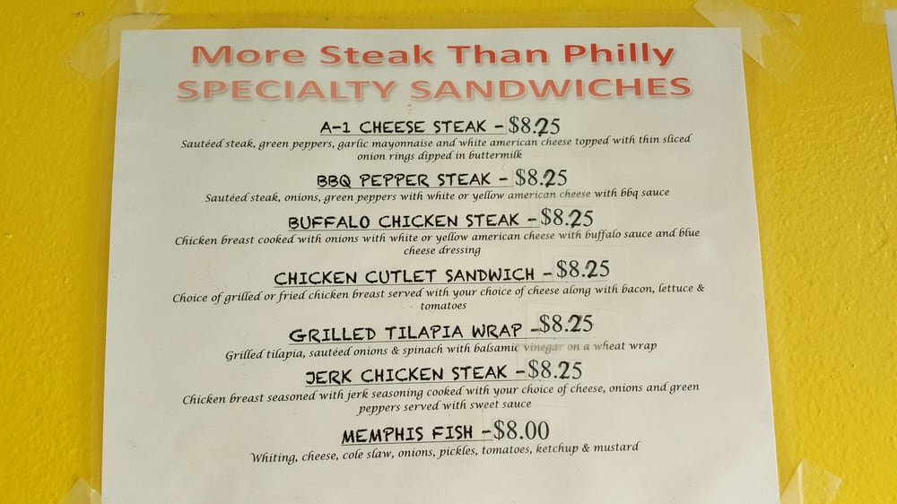 More Steak Than Philly - CLOSED - 2019 All You Need to Know