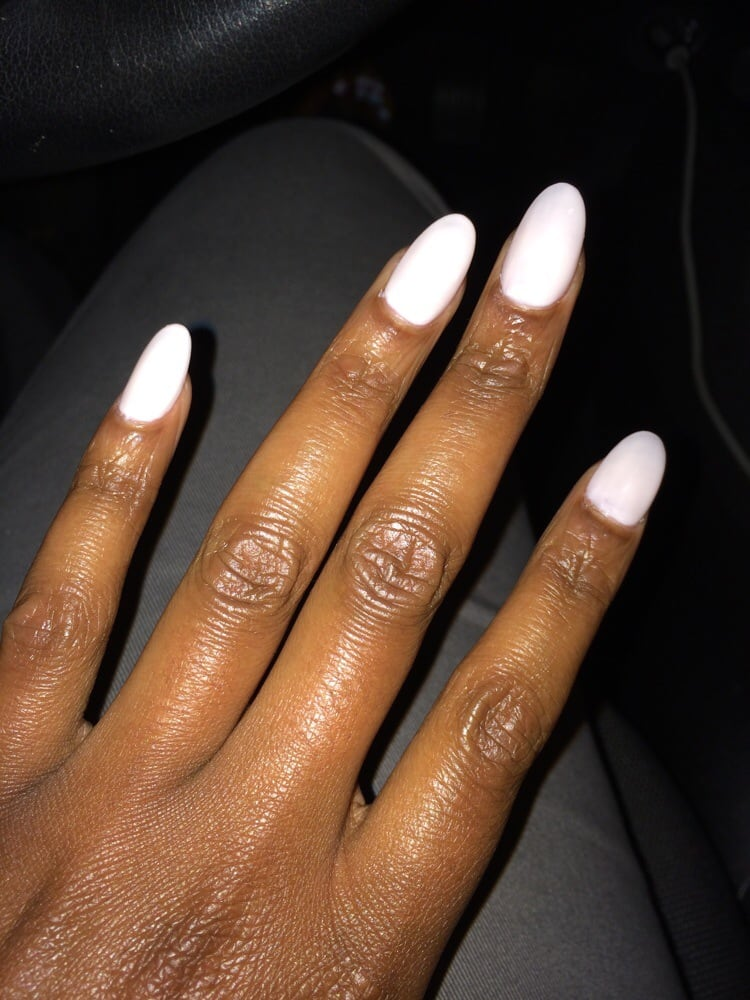 Normally I get a gel manicure, but I tried the stiletto manicure. I ...