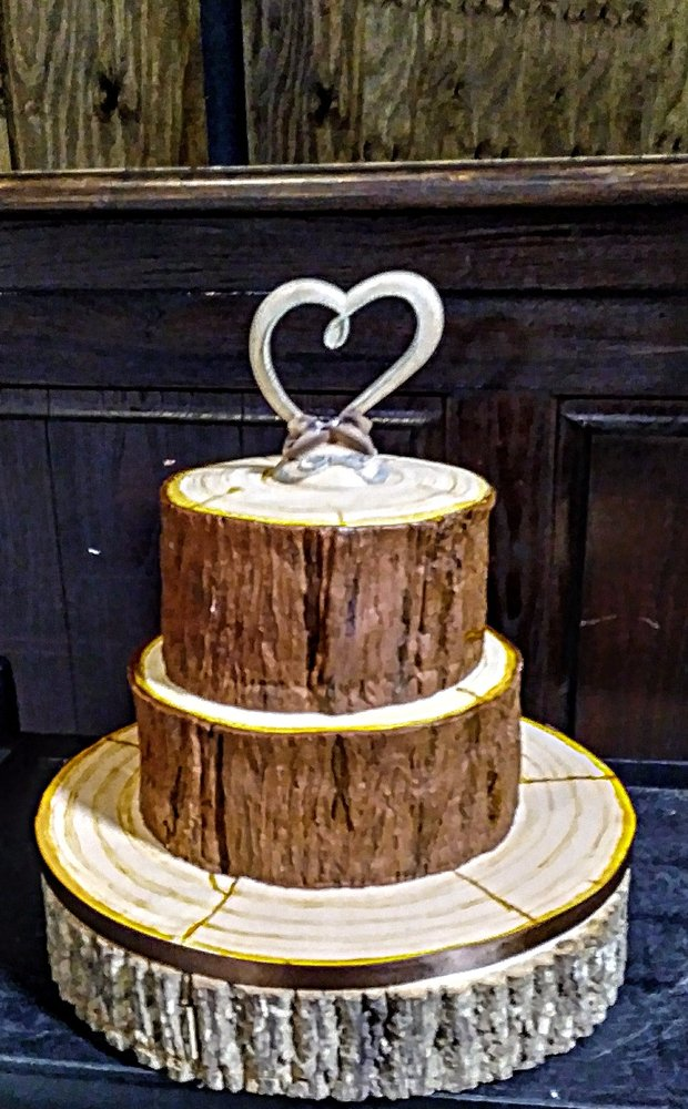 Country Wood Themed Wedding Cake Yelp