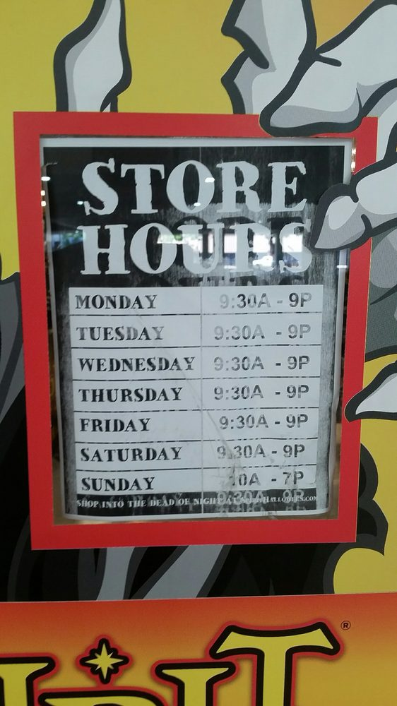 Store Hours for Spirit Halloween at Ala Moana Center. - Yelp