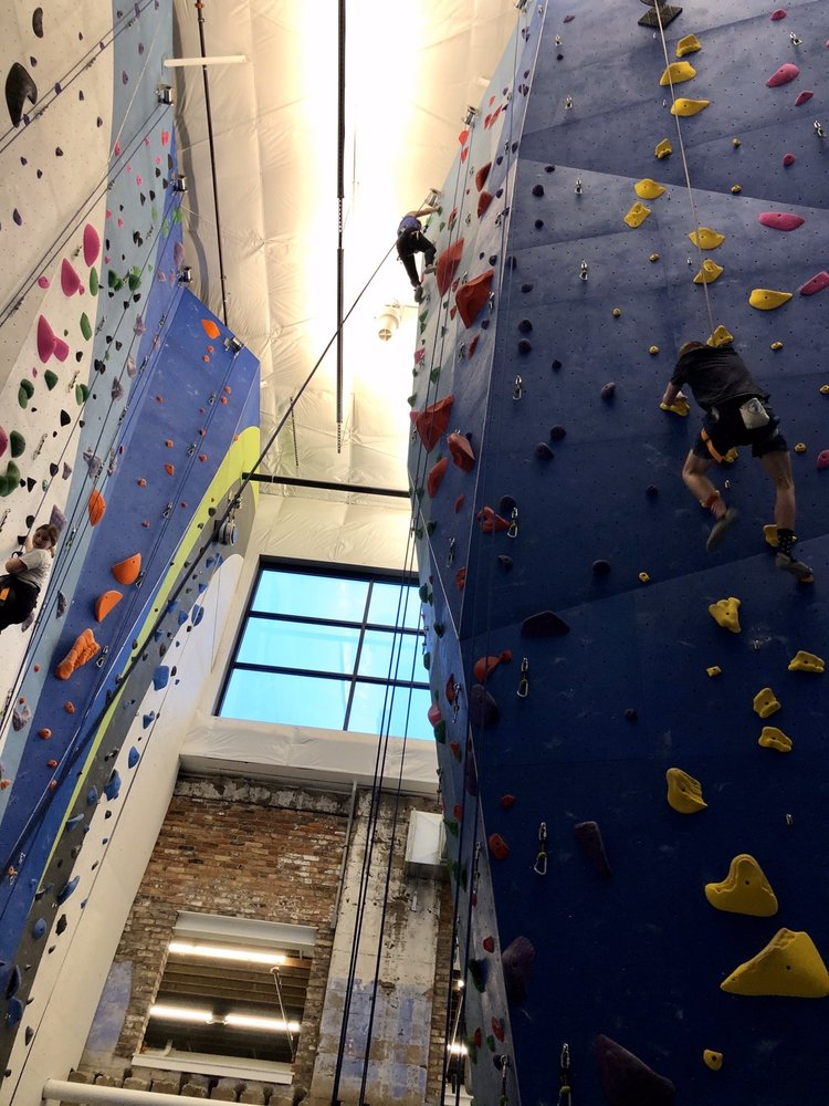 First Ascent Climbing And Fitness Peoria: 927 SW Washington St, Peoria, IL