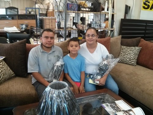 Marisela Pedro And Chris Happy Customers With Their