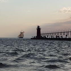 Photo Of South Beach Park Haven Mi United States Historical Boat