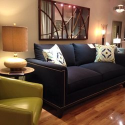 Photo Of Portland Furniture   Portland, OR, United States. Transitional  Navy Blue Beauty ...