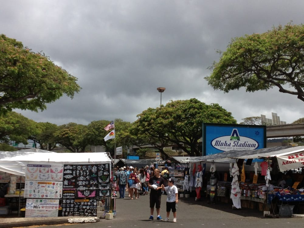 aloha stadium swap meet address search